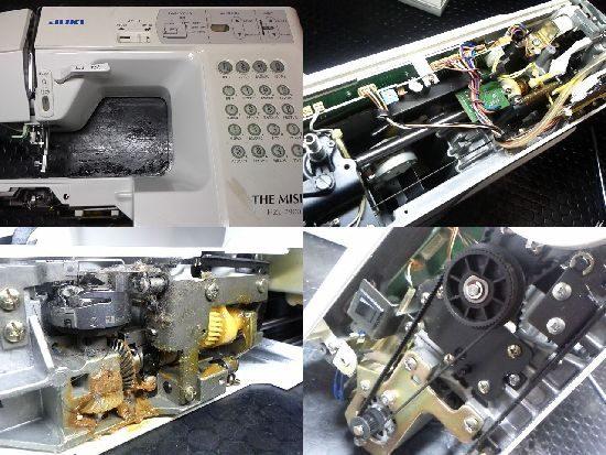 HZL-7900のJUKIミシン修理