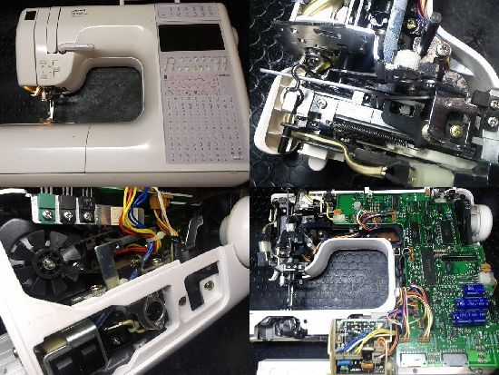 JUKIHZL-9900のミシン修理
