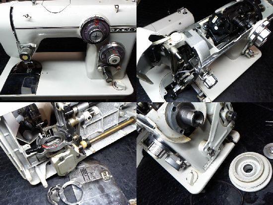 ジャノメ672のミシン修理