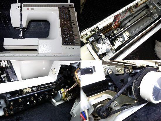ジャノメメモリークラフト6500のミシン修理