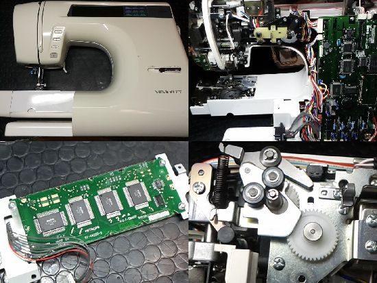 ブラザーZZ3-B894のミシン修理