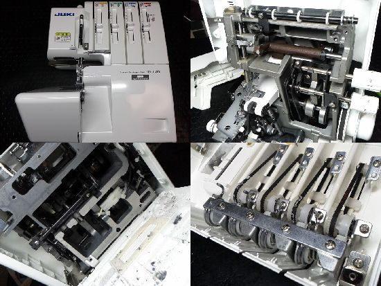 JUKIミシンMO-114Dの修理
