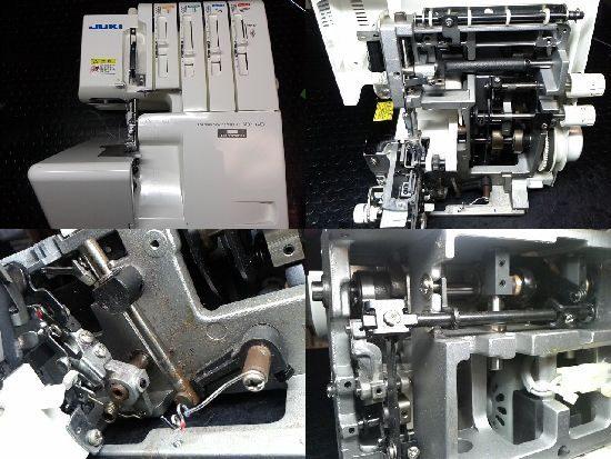 JUKIロックミシン修理MO-114D