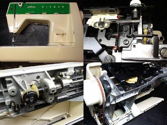 シンガーモナミⅡ394のミシン修理