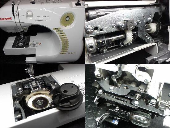 ジャノメN-265のミシン修理