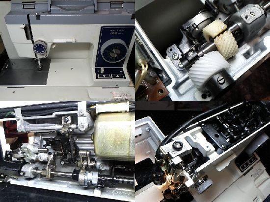 リッカーRAZ-1000のミシン修理