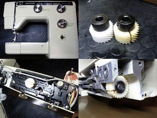 リッカーフリーアーム8000のミシン修理