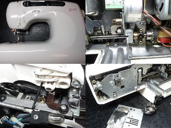 SINGERミシンT6900の修理