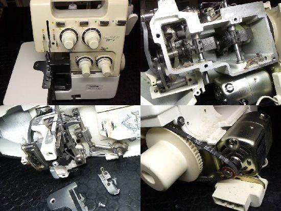 ブラザーTE4-B566のミシン修理