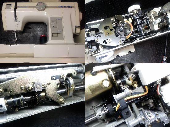 ジャノメTWOINONEのミシン修理