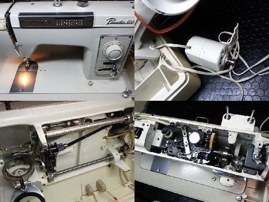 ブラザーペースセッター600ZU2-B600のミシン修理