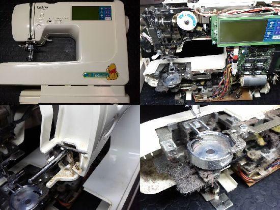 ブラザーZZ3-B140のミシン修理