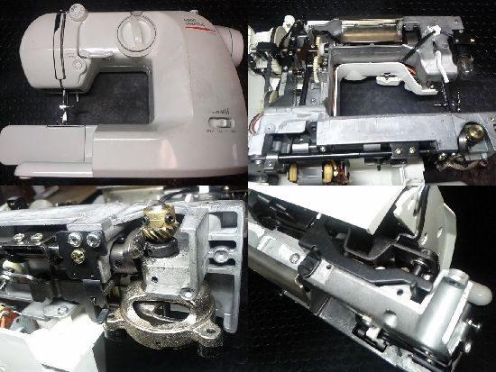山崎範夫AG-002のミシン修理