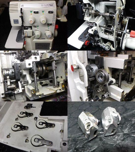 ベビーロックBL4-85のミシン修理