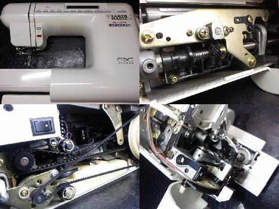 JANOMEカデットのミシン修理