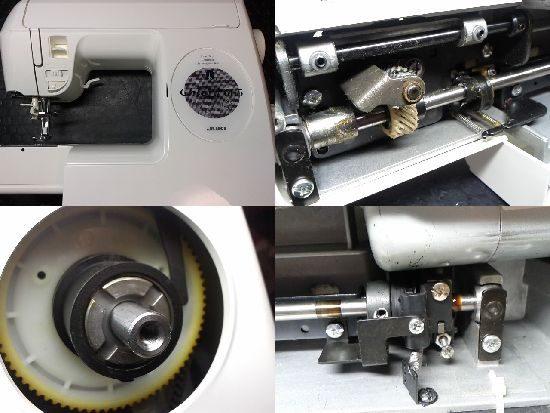 JUKIクロロ665のミシン修理