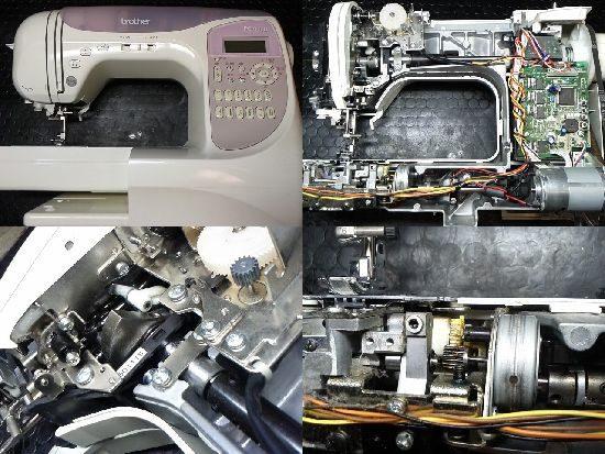 ブラザーCPS54のミシン修理