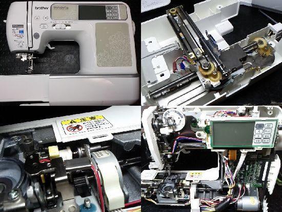 BrotherイノヴィスCR1000のミシン修理