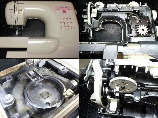 Brother EL541のミシン修理