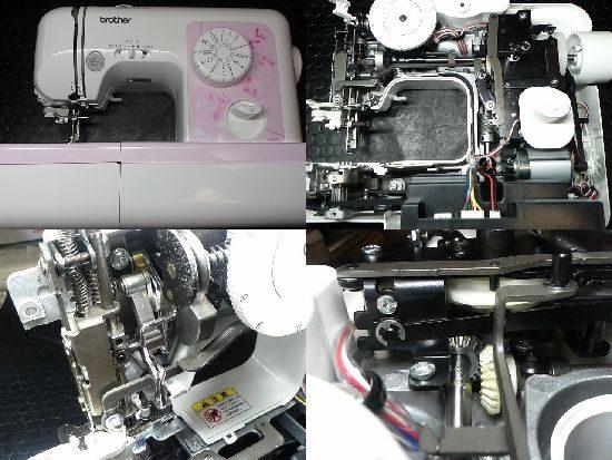 ブラザーELU58のミシン修理