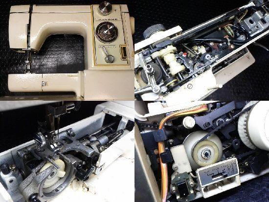 JANOMEエクセル815のミシン修理