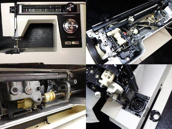 JANOMEエクセル817のミシン修理