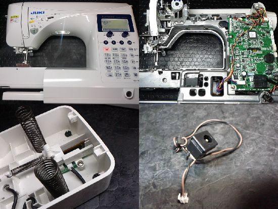 JUKIエクシードキルトスペシャルのミシン修理