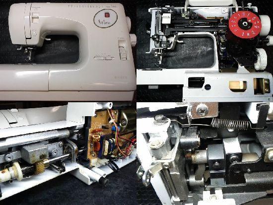 SINGERフィットライン6280のミシン修理