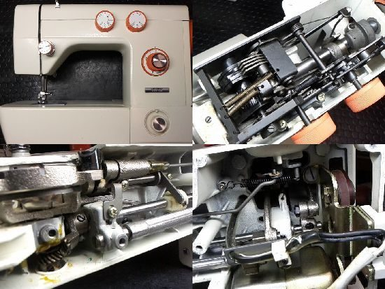 JUKITOHAN HZF-880のミシン修理