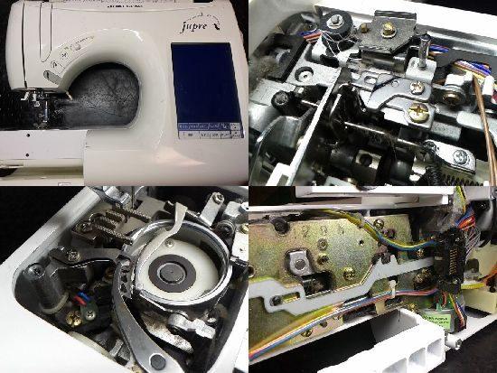 JUKIジュプレのミシン修理
