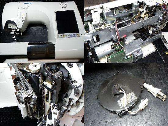 JUKIジュレーブHZL-010のミシン修理