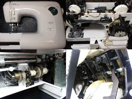 ブラザーリゼレZZ3-B590のミシン修理