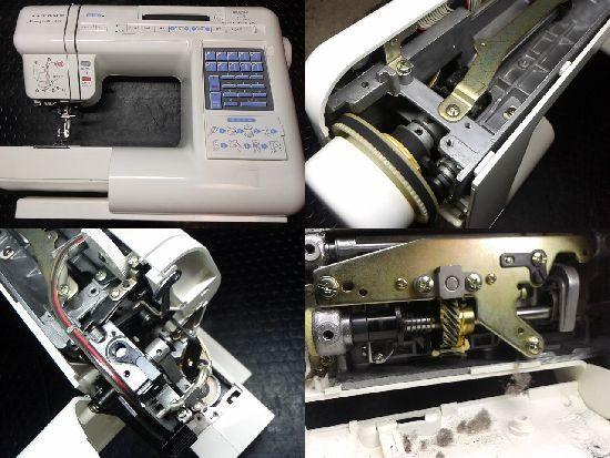 ジャノメメモリークラフト6700のミシン修理