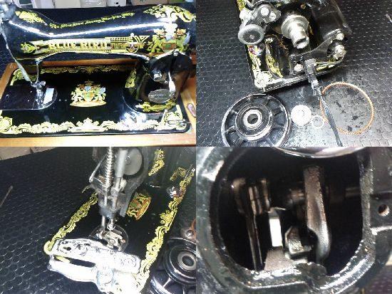 ブルーバードNL-Kのミシン修理