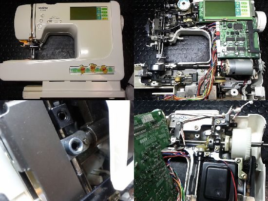 ブラザーP-5500のミシン修理