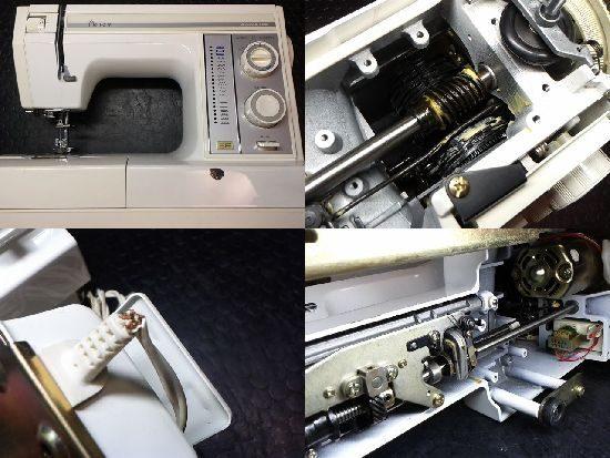 JANOMEプレールSP641型のミシン修理