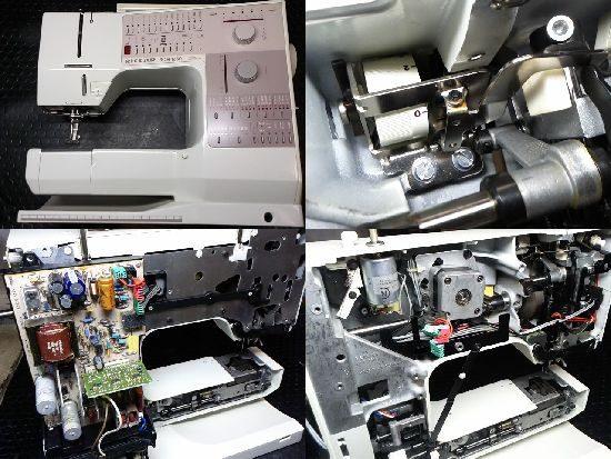 ベルニナRCM1230のミシン修理