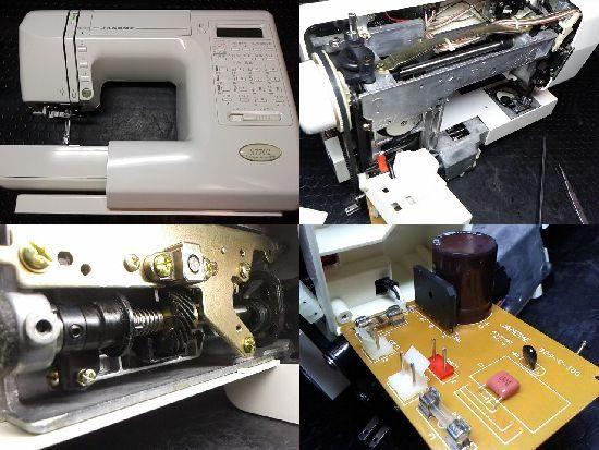 JANOME S7702のミシン修理