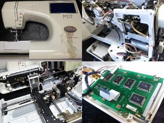 JANOMEセシオ9100型のミシン修理