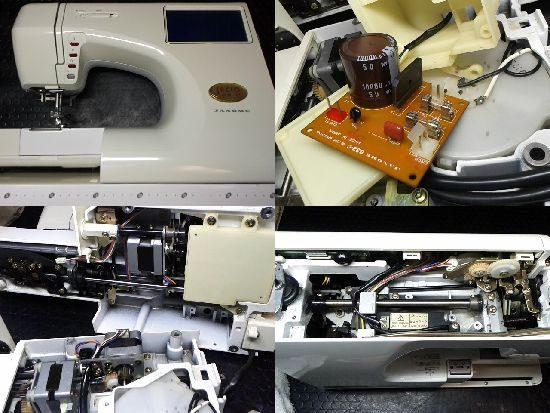 JANOME9201型のミシン修理