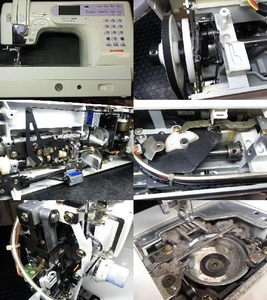 JANOMEスーパーキルトのミシン修理