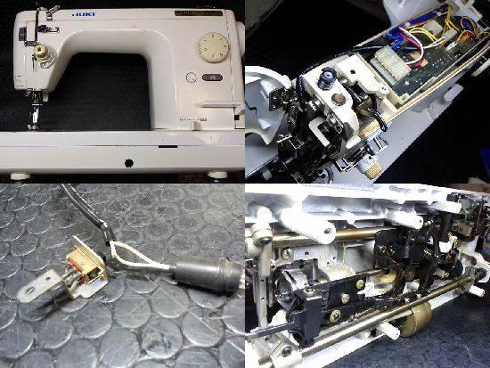 JUKIシュプール98デラックスTL-98DXのミシン修理