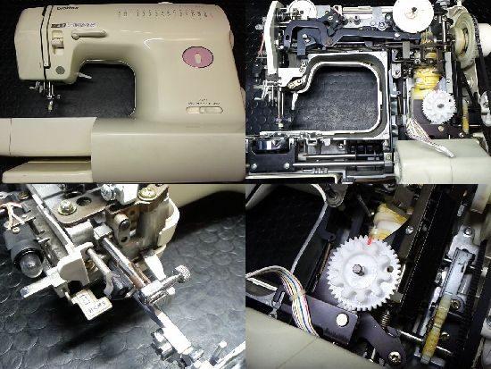 ブラザーFX-2000のミシン修理