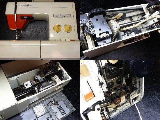 ブラザーZZ3-B750のミシン修理