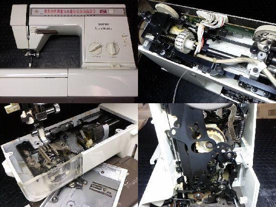 ブラザーZZ3-B772のミシン修理