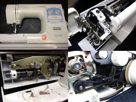 JANOME Fabricmateのミシン修理