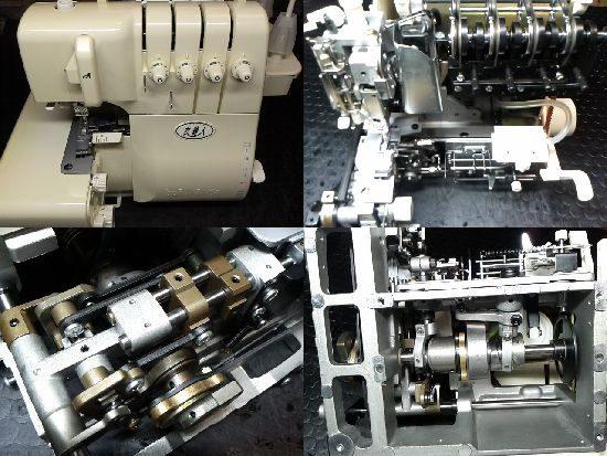 衣縫人BL555のミシン修理