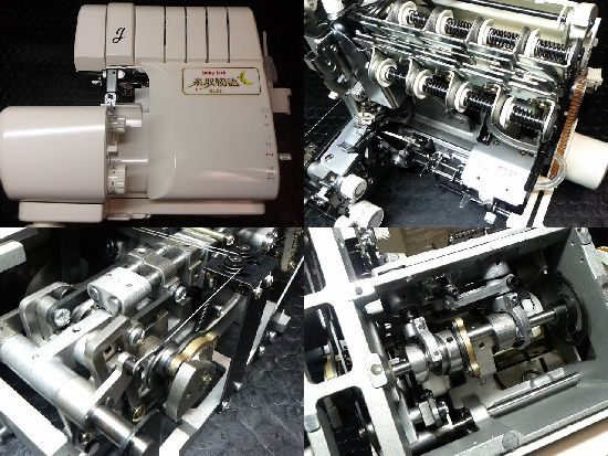 babylock糸取物語BL65のミシン修理