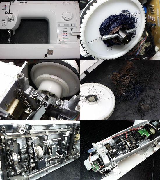 Brotherヌーベル470のミシン修理