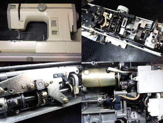 JANOMEコンビDX2000のミシン修理